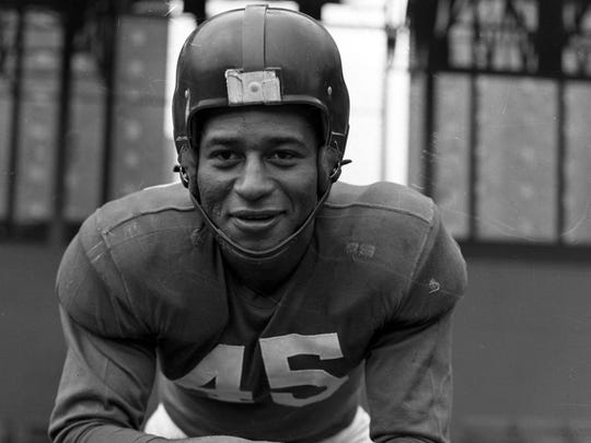 Emlen Tunnell was the first African-American player inducted into the Pro Football Hall of Fame.