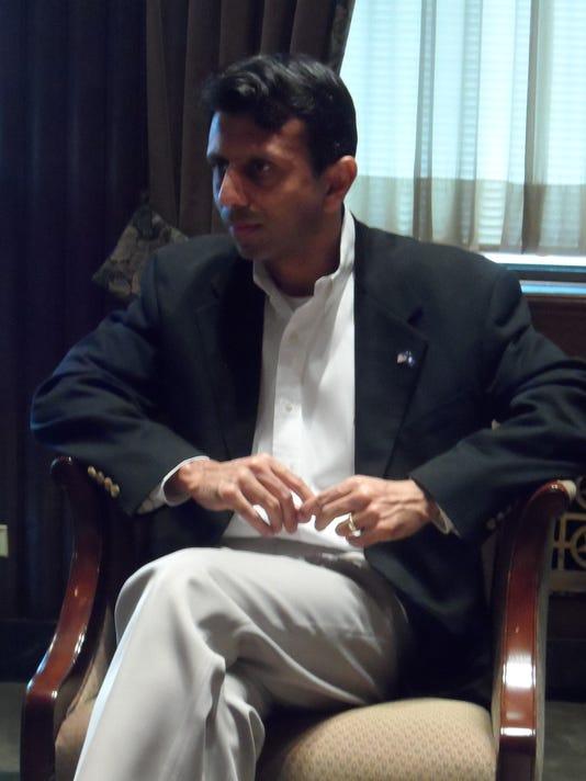 Jindal at press briefing