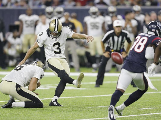 NFL: Preseason-New Orleans Saints at Houston Texans