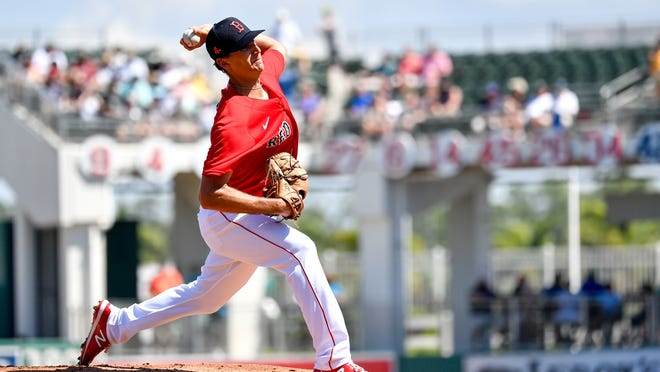 Red Sox left-hander Kyle Hart, shown pitching during spring training, makes his major league debut Thursday at Fenway Park.