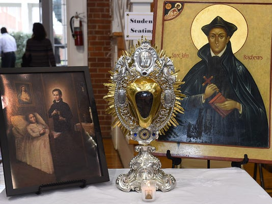 Relic to St. John Berchmans