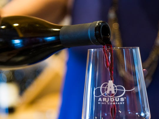 Aridus Wine Company sources grapes from New Mexico, California and Arizona, including Aridus' 40-acre vineyard in Pearce.