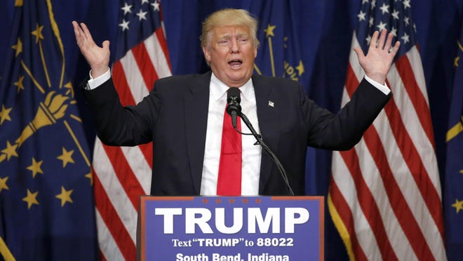 Donald Trump, the GOP's newly minted presumptive nominee.