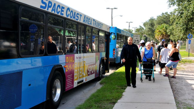 A proposed penny-a-gallon increase in the local gas tax could generate $2.5 million a year for Space Coast Area Transit to increase its bus service.