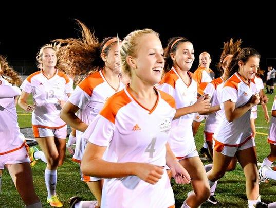 Central York vs Northeastern York-Adams girls' soccer title game
