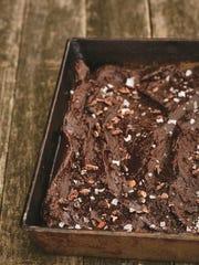 Lighthearted raw grain-free fudgy brownies