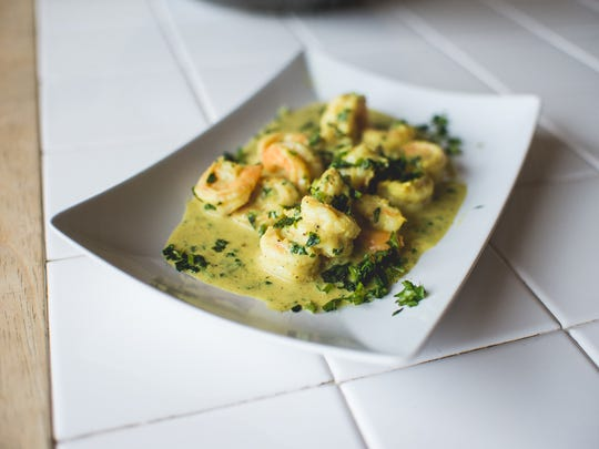 One of Hamir Patel's dishes. Patel will be featured