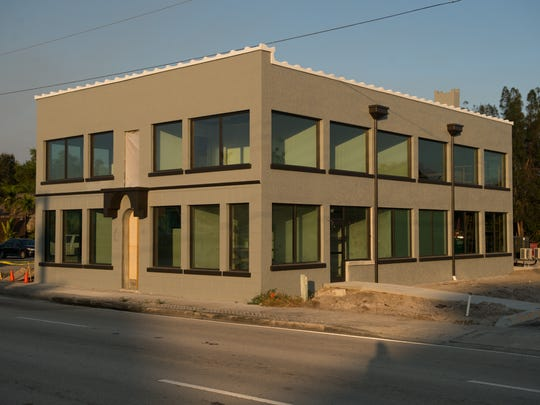 "Straticon Construction's new office in the historic ""Rice Motel"" on U.S. 1 in Stuart."