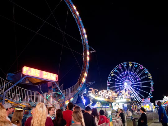 This year's St. Lucie County Fair is Feb. 23- March 4 at the St. Lucie County Fairgrounds on West Midway Road near Okeechobee Road in St. Lucie County.