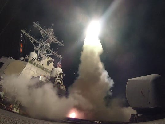 US military Launches Missile Strikes against Syria
