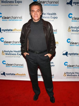 Dr. Mehmet Oz, seen earlier this month, has become a grandfather at the age of 53.