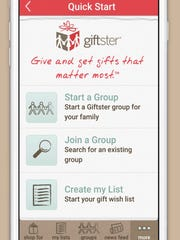 Giftster makes it easy to share everybody's wish lists.