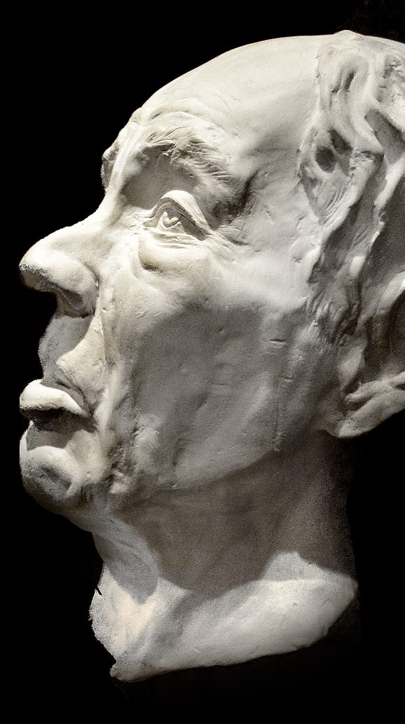 In 1988, experts reconstructed a plaster head of Gordios,