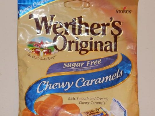 A new federal lawsuit said Storck USA, the makers of Werther's Original candies, puts too much air in their sugar-free packages.