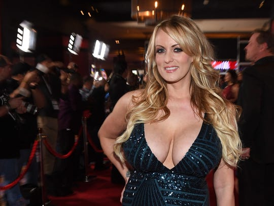 Adult film actress/director Stormy Daniels attends