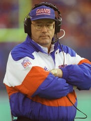 Ray Handley was 14-18 in two seasons with the Giants,