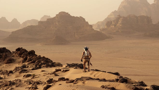 """Ridley Scott's """"The Martian"""" was shot in the same part of Jordan as the 1932 classic """"Lawrence of Arabia."""""""