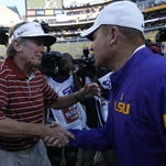 Spurrier LSU post game press conference