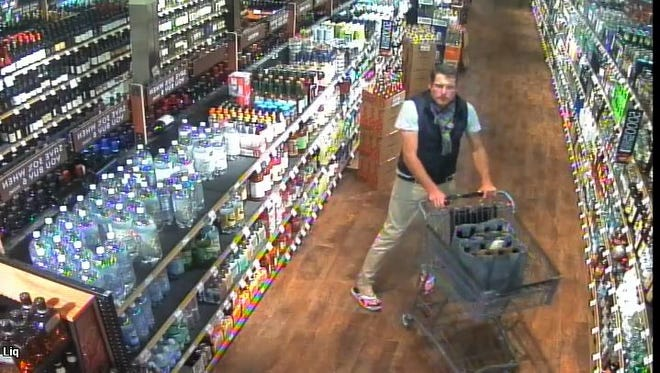 The suspect allegedly stole 55 bottles of high-end wine from a Raley's in Incline Village.