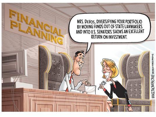 Betsy DeVos' investment