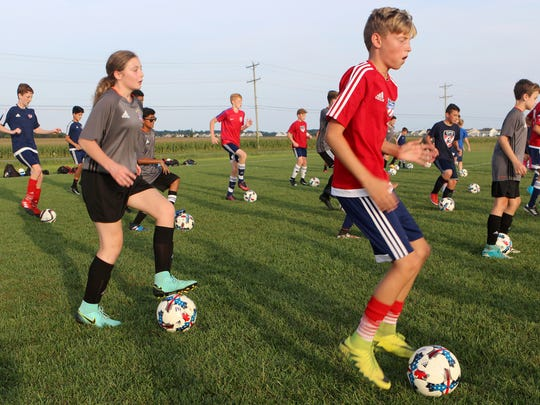 The GPS Delaware Revolution soccer club uses the six fields at the Middletown sports complex on Levels Roads three times a week for practice and training and on Saturday and Sunday for games.