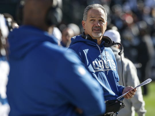 After last season's dramatic U-turn, Chuck Pagano finds himself on the hot seat again.