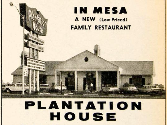 A newspaper ad heralded the new Southern-style Plantation