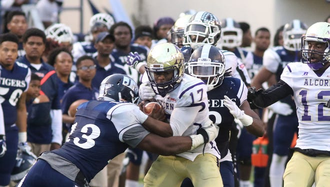 Alcorn State quarterback Lenorris Footman and the Braves will play for the SWAC Championship on Dec. 2 in Houston, Texas.