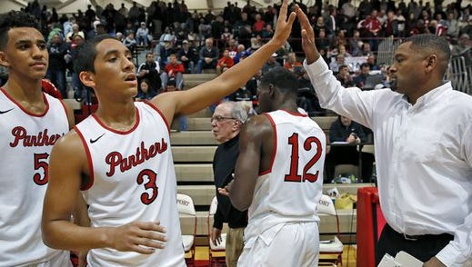 This week's Associated Press high school boys basketball has North Central at No. 1 in Class 4A.