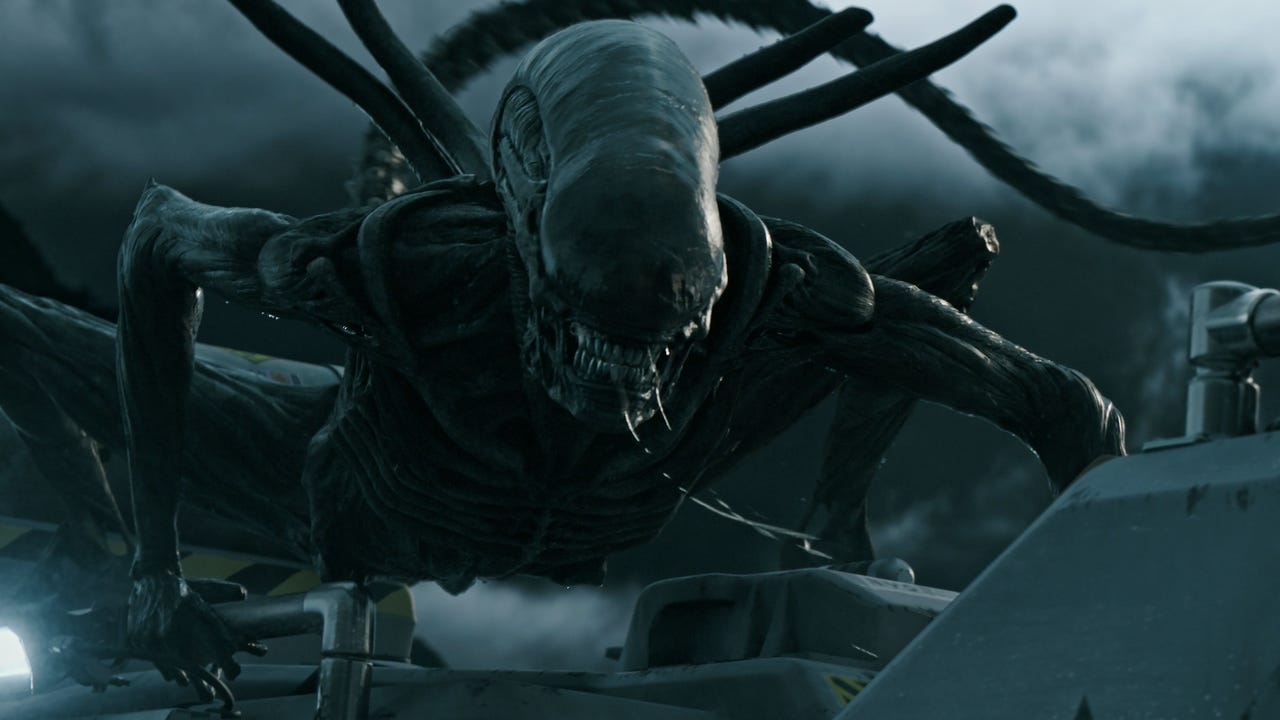 "Ahead of the release of ""Alien: Covenant,"" director Ridley Scott says that the real star of the ""Alien"" franchise is the alien itself. (May 8)"