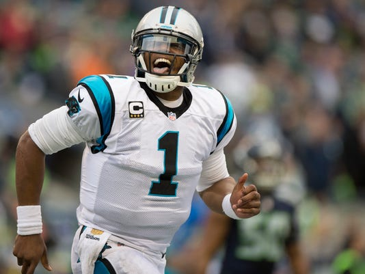 USP NFL: CAROLINA PANTHERS AT SEATTLE SEAHAWKS S FBN USA WA