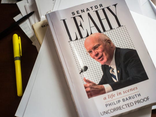 UVM professor and state senator Philip Baruth recently wrote the first biography of Sen. Patrick Leahy.