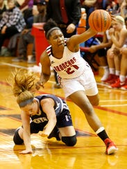 Kiara Lewis had a breakout year and is the Journal & Courier Big School Player of the Year after leading Lafayette Jeff to a repeat North Central Conference championship.