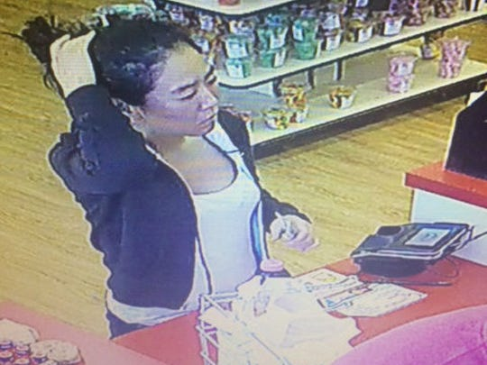 Southern Regional Police want to identify this woman in connection with an officer struck in Glen Rock.