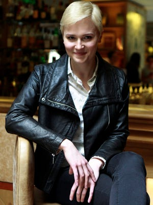 Veronica Roth, author of the  'Divergent' series, talked about her new book at BookCon Saturday.