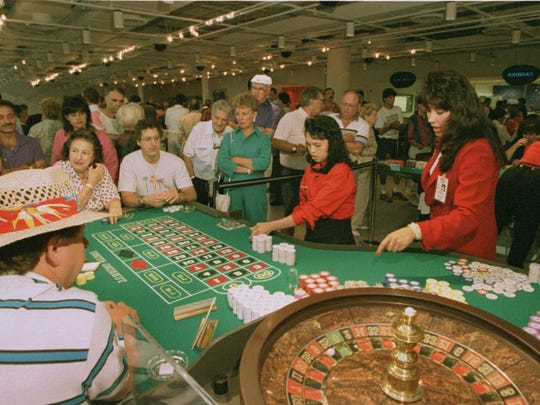 Turning Stone Casino when it opened in 1993.