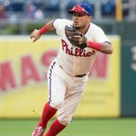 Philadelphia Phillies shortstop Freddy Galvis was one of three players on the team to file for salary arbitration Tuesday.