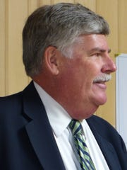 Retired district judge Steve Bell acted as hearings officer Tuesday.