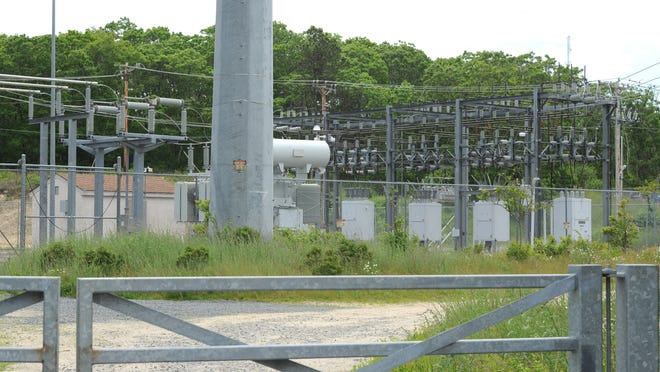 As part of Eversource's Mid-Cape Reliability Project, a new overhead transmission line would be built between Joint Base Cape Cod and this substation on Oak Street in West Barnstable.  The project would require a 320-by-60-foot expansion of the existing fence line along the west side of the substation, necessitating zoning relief from the town of Barnstable.