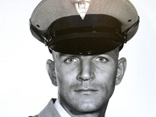 State Trooper Werner Foerster, who was killed by Joanne Chesimard in 1973. Chesimard was convicted of the murder but escaped to Cuba and was granted political asylum after three gunmen helped her escape from prison.