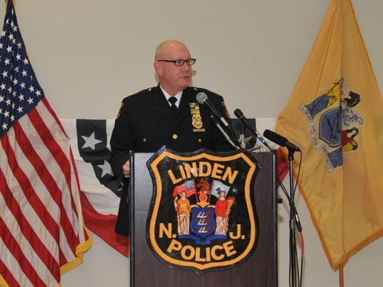 Linden Police Chief David Hart