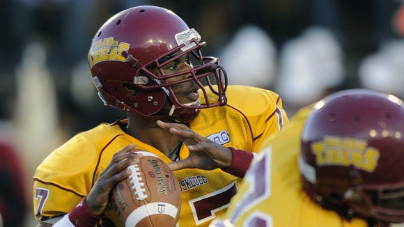 Justin Nared is set to start the 2014 season as Tuskegee's starting quarterback after an injury-plagued junior year last season.