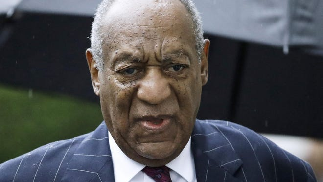 In this Sept. 25, 2018, file photo, Bill Cosby arrives for a sentencing hearing following his sexual assault conviction at the Montgomery County Courthouse in Norristown Pa. The Hollywood star is currently serving up to 10 years in prison on his conviction.