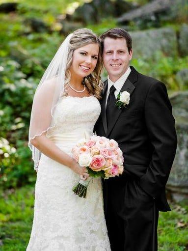 Neddie Hughes and Jim Brennan married Aug. 24, 2013.