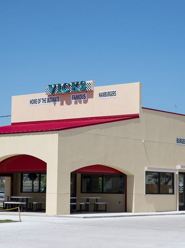Vick's Famous Burgers new location at 626 N. Port Ave