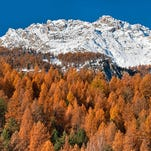 Autumn colors in Massif des Ecrins, in the French Alps. The photo was submitted to USA TODAY via Your Take at yourtake.usatoday.com