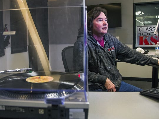 KSLX radio personality Russ Egan has been spinning