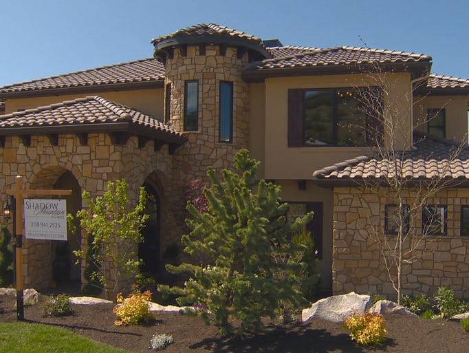 palatial italian villa style parade home overlooking boise