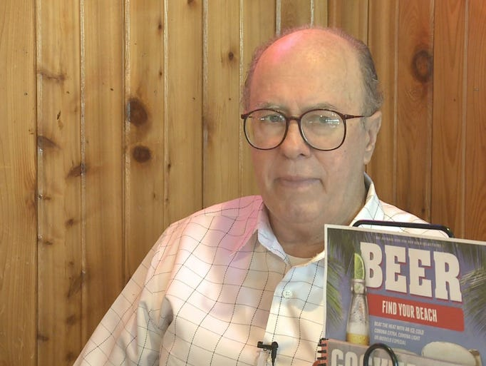 Don Thomas is a longtime regular at the Hooters in