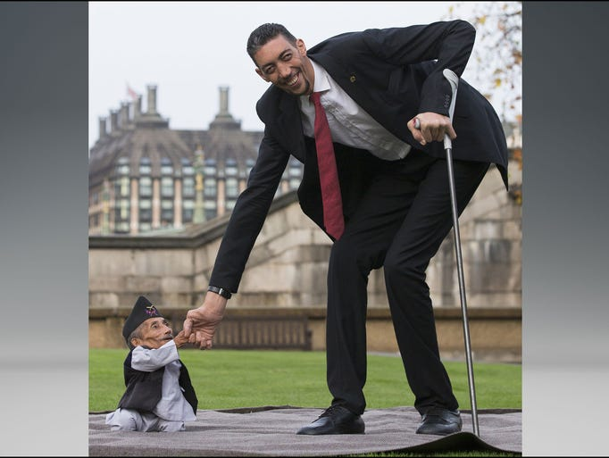 Tallest Person In The World 2014 World's shortest man, ...